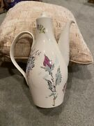 Castleton China Mid Century French Garden Marcel Verter Coffee Pot With Lid