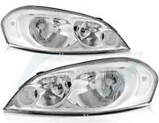 Headlight Assembly For 2006-2015 Chevy Impala 2006-2007 Monte Front Left + Right