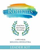 Romans - Women's Bible Study Leader Kit Good News That Changes Everything By…