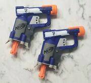 Nerf N-strike Elite Sonic Fire And Ice Jolt Team Pack Of Four Blasters Toy New