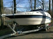 Chaparral Boat Signature Cruiser 240 1999 Cozy Cuddy Low Engine Time