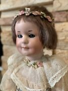 """10"""" 550 Armand Marseille Bisque Doll Just Adorable"""