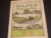 Nilson Tractor Antique Photograph And Document Archive