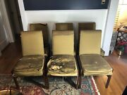 Rare Mid Century Parson Style Dining Chairs By Pace. Henning Nandoslashrgaard Style