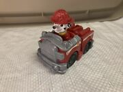 Paw Patrol Marshallandrsquos Fire Engine Toy With Collectible Figure Spin Master