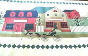 Wallpaper Border Country Store Town Scene Cream Wall 555591 Horse Drawn Buggy