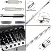 Gas Grill Replacement Parts Kit Heat Plate Tent Shield Tube Burner Charbroil