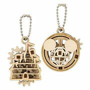 Disney Parks Ugears Wood Puzzle Keychains