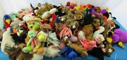 Huge Lot Of 234 Ty Beanie Baby 1996-2003 Bear Collection Peace 68 Pounds Rare