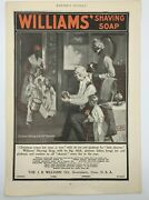 Williams Shaving Soap Christmas Morning On De Ole Plantation Harpers Weekly Ad