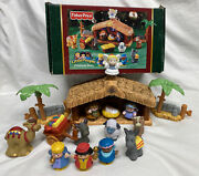 Fisher Price Little People Christmas Story Nativity Set Missing Trough