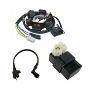 Magneto Stator Ignition Coil Cdi Box For Gy6 125c 150cc Atv Gokart Scooter Moped