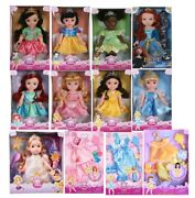 New Lot 12 My First Disney Princess Dolls Collection 1st Edition + Clothes Box
