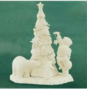Snowbabies Dept. 56 Lift Me Higher I Canand039t Reach