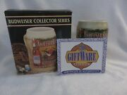 1991 Budweiser Collector Series Bottled Beers Stein Cs136 Excellent Condition