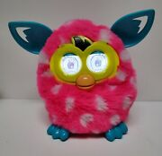 Furby Boom Rare 2012 Pink W/ White Spots And Blue Ears - By Hasbro Clean Talks