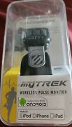 New Scosche Rhythm Bluetooth Armband Heart Rate Pulse Monitor Music Android/ipod