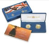 400th Anniversary Mayflower Voyage Gold And Silver Coins And Medals 4 Sets 6 Coins
