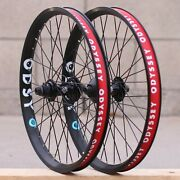 Odyssey Bmx C5 Front Or Antigram V2 Cassette Bicycle Wheel Black Litehouse