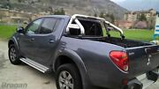 To Fit 05-15 Mitsubishi L200 Roll Bar + Light + Long Bed Tonneau Cover + Spot