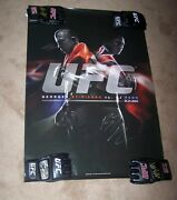 /40 Ufc 94 Le Limited Edition Signed Poster Bj Penn Gsp Pride Glove Auto Mma