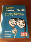 Autodata Timing Belt Manual Great Condition Clean Pages