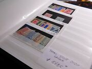 Italia Italy Stamps Sets Collection On Stock Cards. Scv 5625