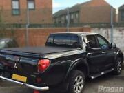 To Fit 05-15 Mitsubishi L200 Roll Bar + Short Curved Bed Tonneau Cover + Spots