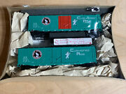 Athearn Ho Scale Great Northern Railway Cushioned Ride Box Car Broken As Is