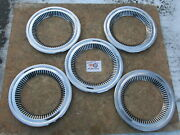 1957-58 Chevy Cameo Truck, 1963-71 Jeep Jeepster 15 Trim Rings Beauty Rings 5
