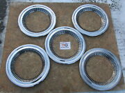 1957-58 Chevy Cameo Truck 1963-71 Jeep Jeepster 15 Trim Rings Beauty Rings 5