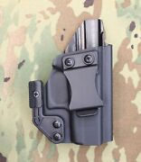 Fits Glock 43 Glock 43x Aiwb Iwb Hyde Arms Holster Made In Usa