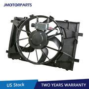 1x Radiator Cooling Fan Assembly For 10-12 Ford Fusion 11-12 Lincoln Mkz 621-445
