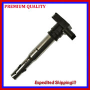 1pc Eau575 Ignition Coil For Vw 06f 905 115 F 06f905115f