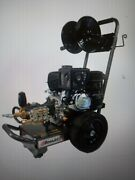 Bossjet Basic Sewer Jetter 420cc Pe 4000psi / 4gpm Includes Reel/150and039 Hose