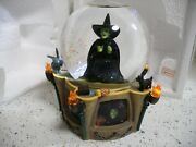Wizard Of Oz Wicked Witch I'm Melting Globe Sf Music Box Co Local Pickup