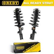 For Toyota Sienna Fwd 1998-03 Front Complete Struts Assembly Coil Springs Mounts