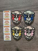 Garbage Pail Kids Official Gpk Nation Complete 1/50 Patch Set All 4 Adam Bomb