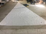 """Used Sail Genoa 1 Year Old Lightly Used Luff 30'4"""" Leech 27'6"""" Foot 14'0"""" Hanked"""
