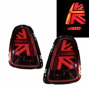Mini R56 Second Generation 07-13 Hatchback 3d Led Tail Rear Light Red For Mini
