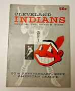 1951 Cleveland Indians Official Yearbook Mlb Baseball Good Shape Cool And Rare