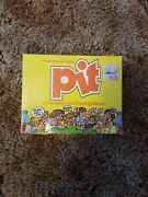 Vintage Pit A Frenzied Card Trading Game By Parker Brothers 1983. Open Box Seale