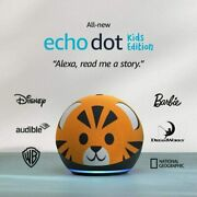 All-new Echo Dot 4th Gen Kids Edition | Designed For Kids, With Tiger