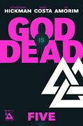 God Is Dead 5 Comic 2013 - Avatar Comics By Hickman Of East Of West And Avengers