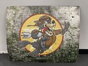 One Of A Kind Custom Led Light Bomber Nose Man Cave/shop Wall Art