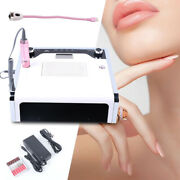 4-in-1 Nail Art Tool Kit Dust Collector Cleaner Nail Drill Curing Lamp 25000rpm