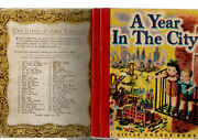 A Year In The City Little Golden Book - Sydney Colourtone Scroll Back Edand039n