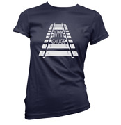 0/7mm Gauge Womens T-shirt Pick Colour And Size Gift Present Model Railway Train