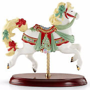 Lenox 2015 Christmas Carousel Horse Figurine Collectible 853124 New In Box