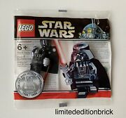 Lego Chrome Darth Vader Star Wars 10th Anniversary Edition Authentic Brand New